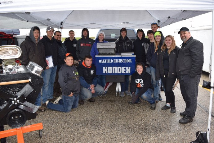 Oakfield High School Students Partner with Kondex on Project GRILL
