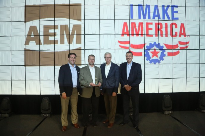 Kondex Recognized with AEM Advocates Program Gold Award